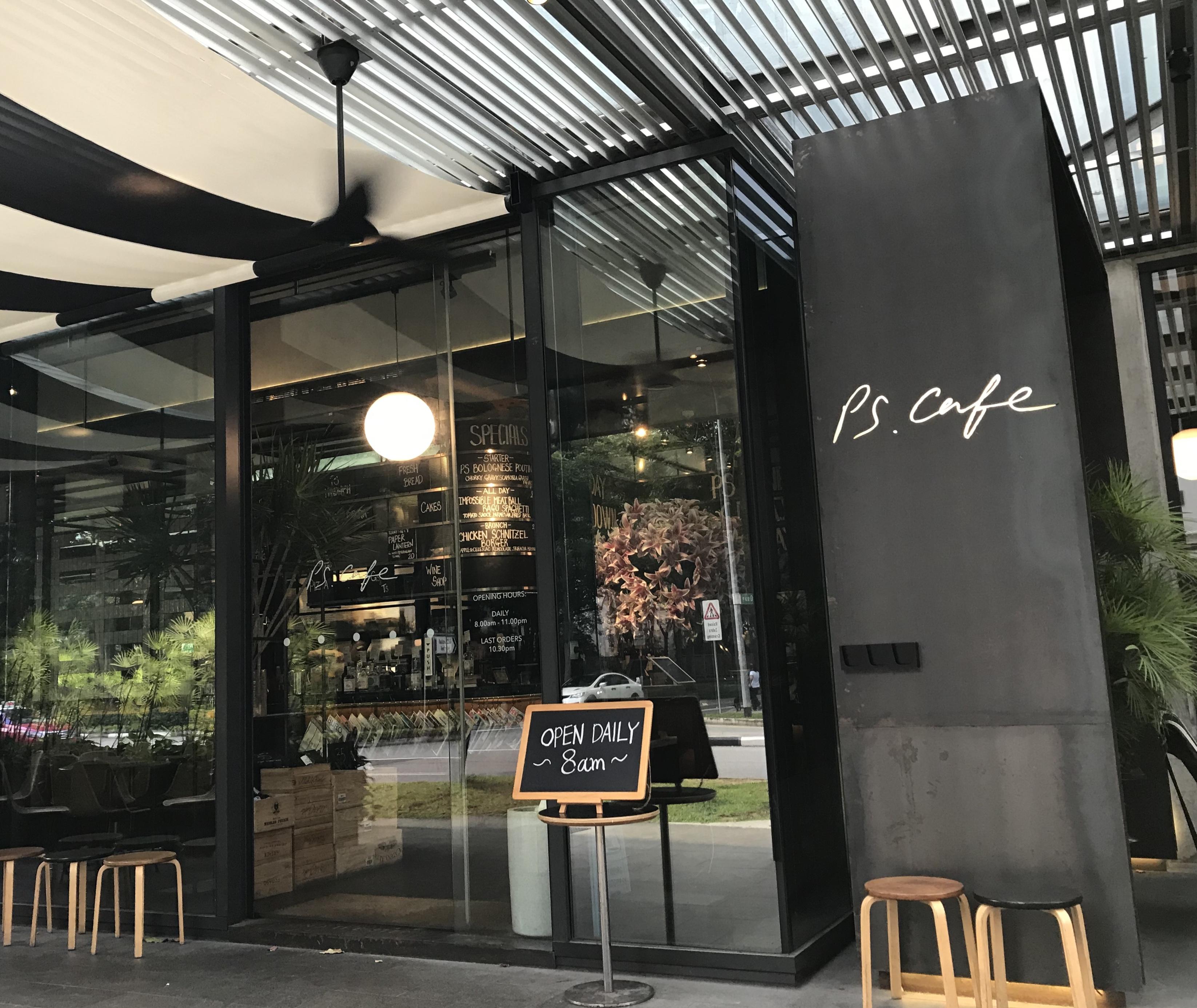 おしゃれなカフェ【PS. Cafe】@マーティンロード