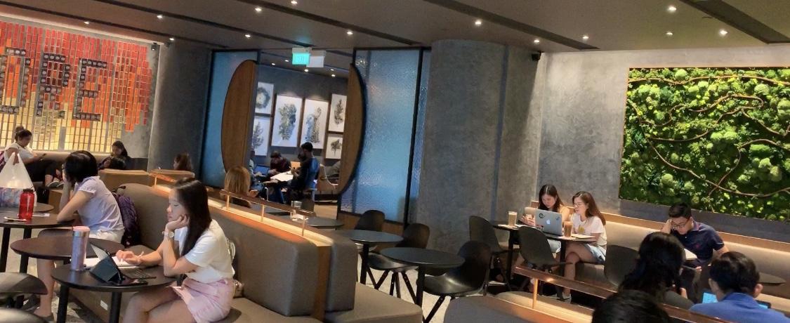 シンガポール最大【スターバックス】@JEWELチャンギ空港