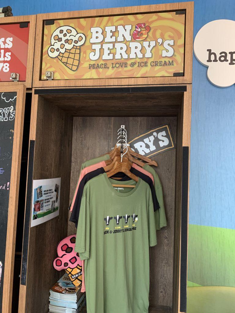 世界中で大人気のアイスクリーム【BEN & JELLY'S】@Jewel