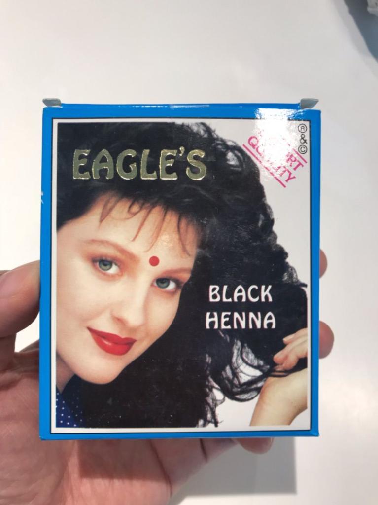 リトルインディアで買った【ヘナ】で旦那の髪を染めてみた!