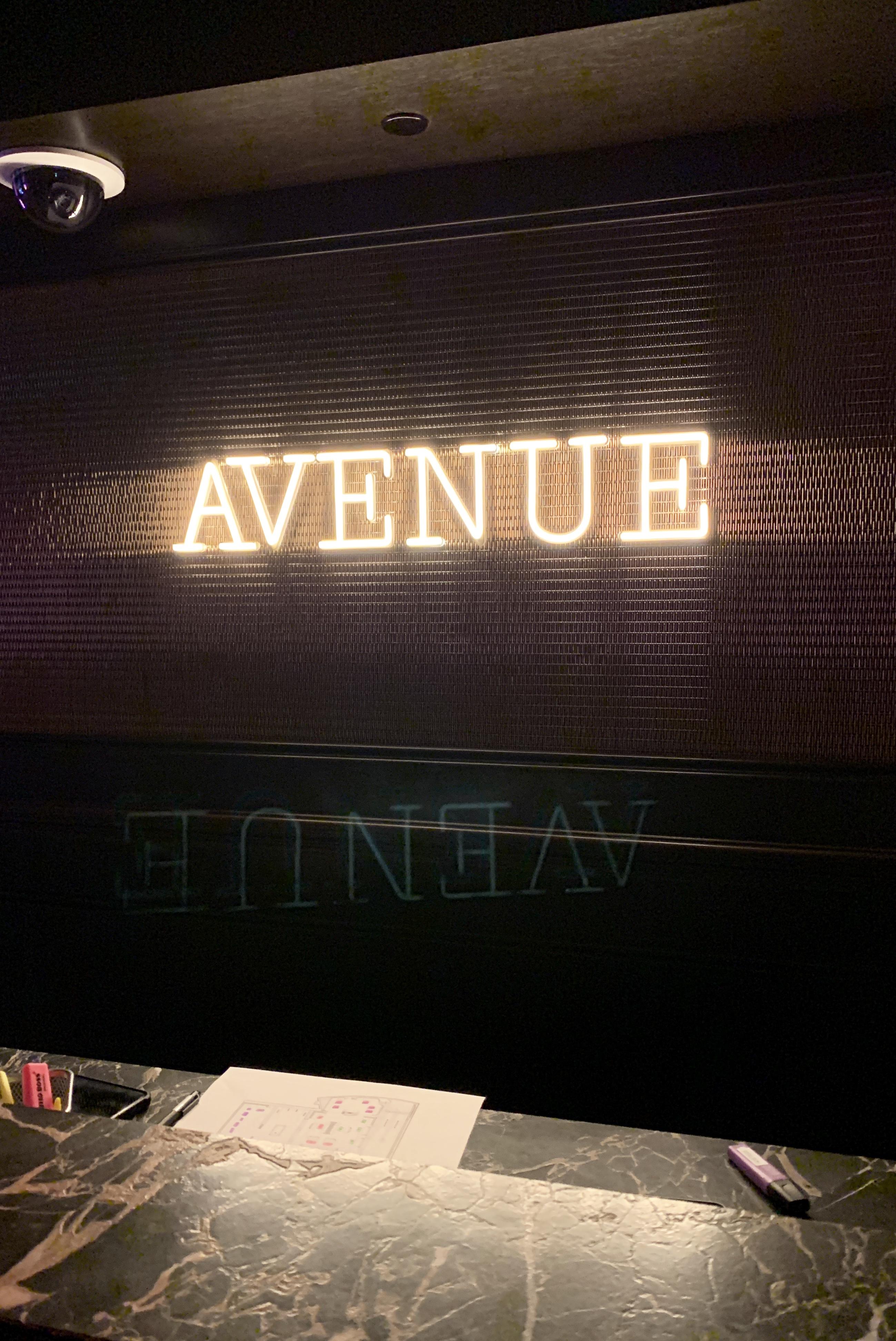 ナイトスポット【Avenue】@マリーナベイサンズ