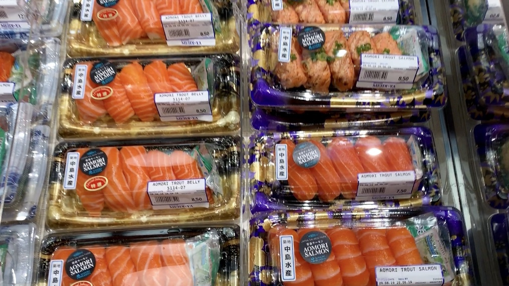 日系スーパー【明治屋 MEIDI-YA】@グレートワールドシティー店