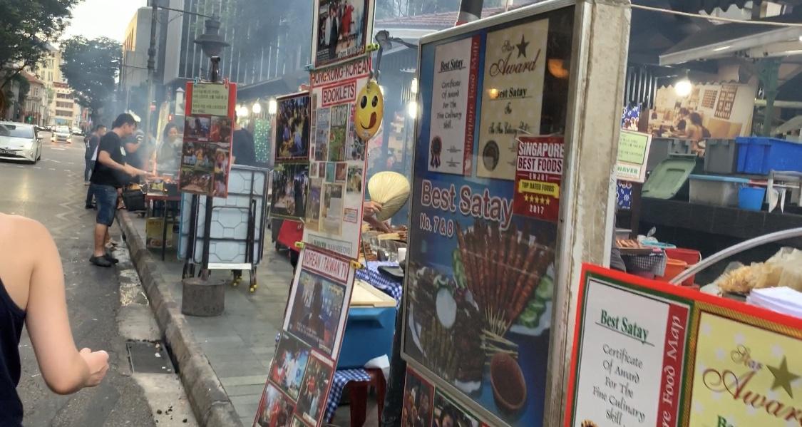 シンガポール最大のホーカー【ラオパサ / Lau Pa Sat Festival Market】@ダウンタウン