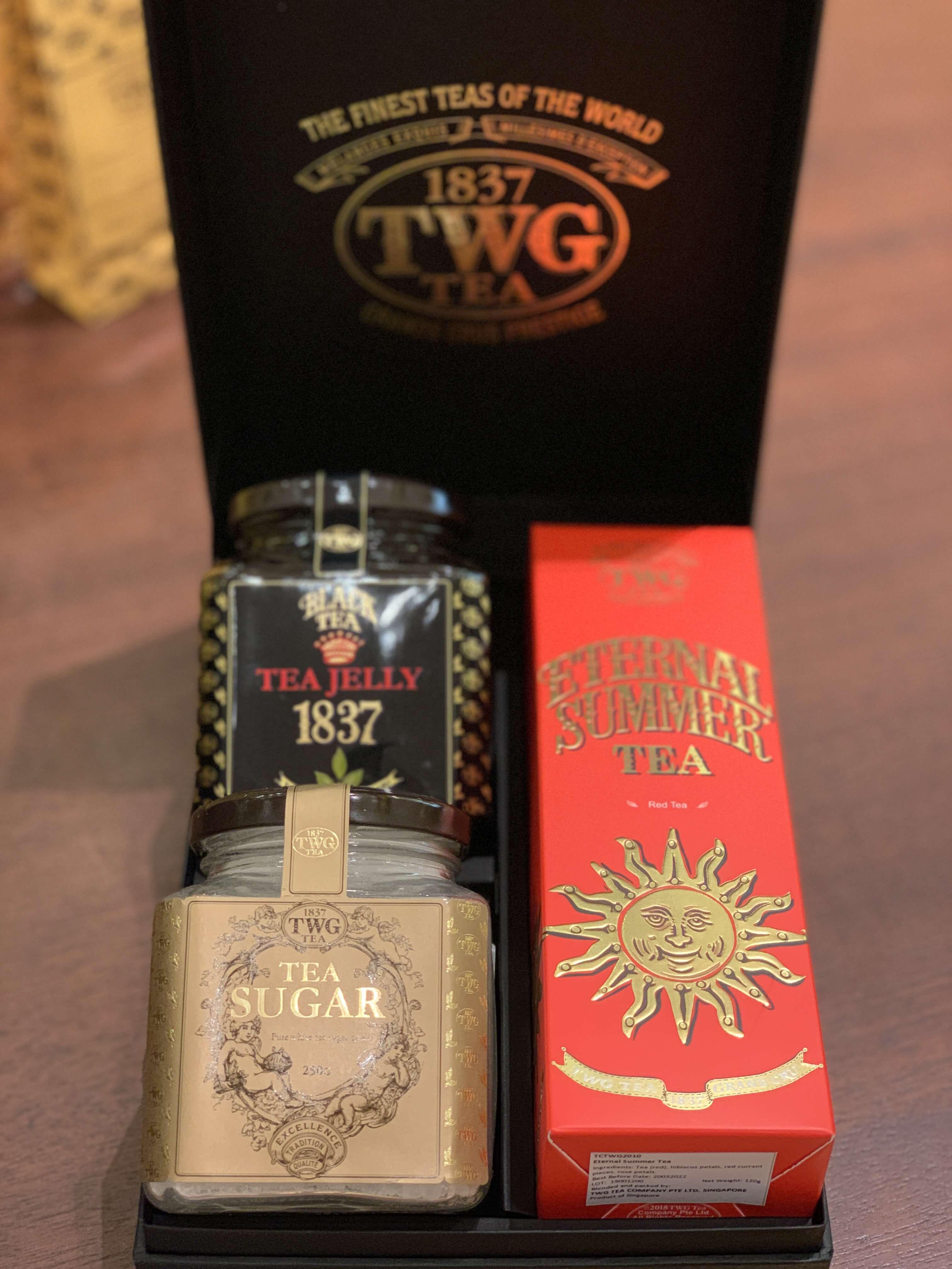 シンガポール土産【TWG紅茶】@マリーナベイサンズ