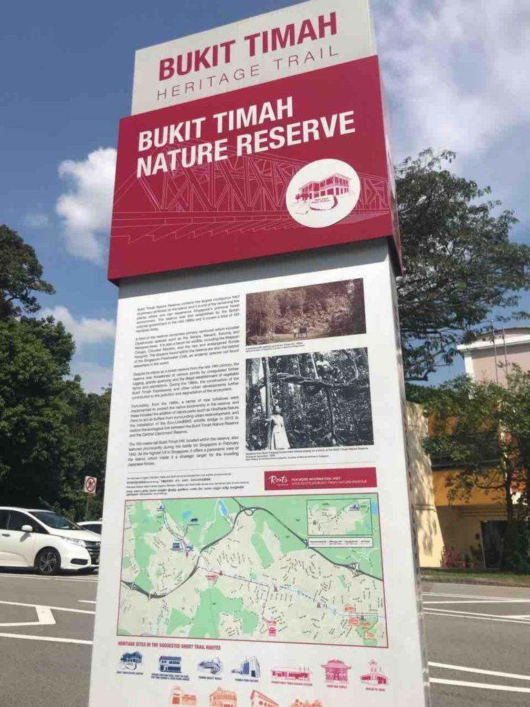 シンガポールで登山!?【BukitTimah山】を登る