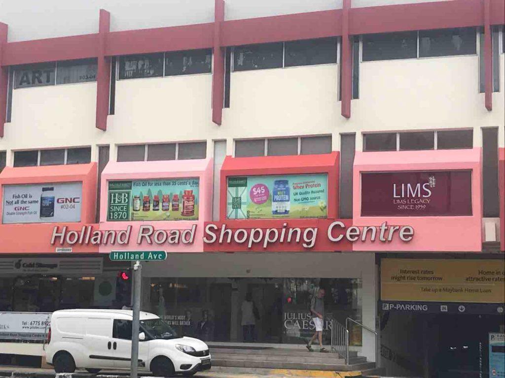 昔からあるショッピングセンター【ホーランドロードショッピングセンター / Holland Road Shopping Center】