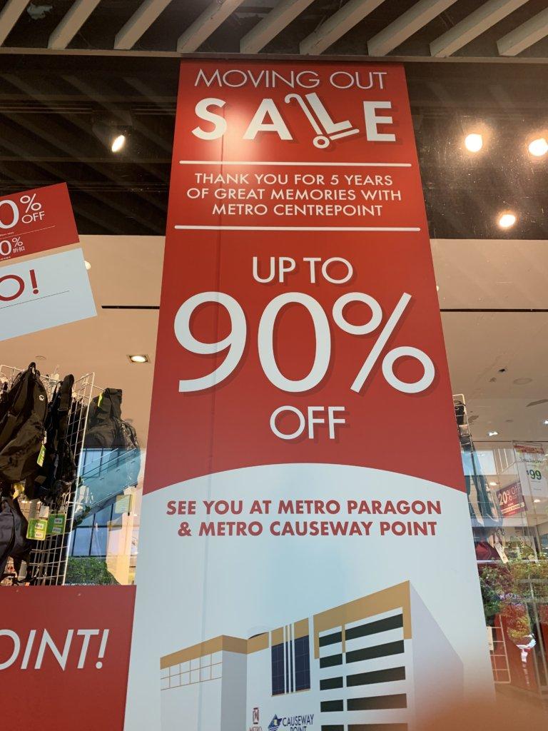 90%OFFセール【Metro】@センターポイント