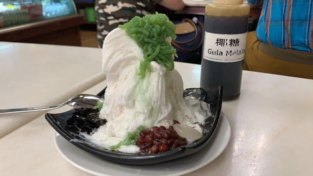 名物ふわふわかき氷【味香園甜品 / Mei Heong Yuen Dessert 】@チャイナタウン