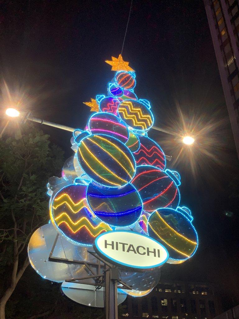 クリスマスイルミネーション2019【The Greatest Gift】@オーチャードロード