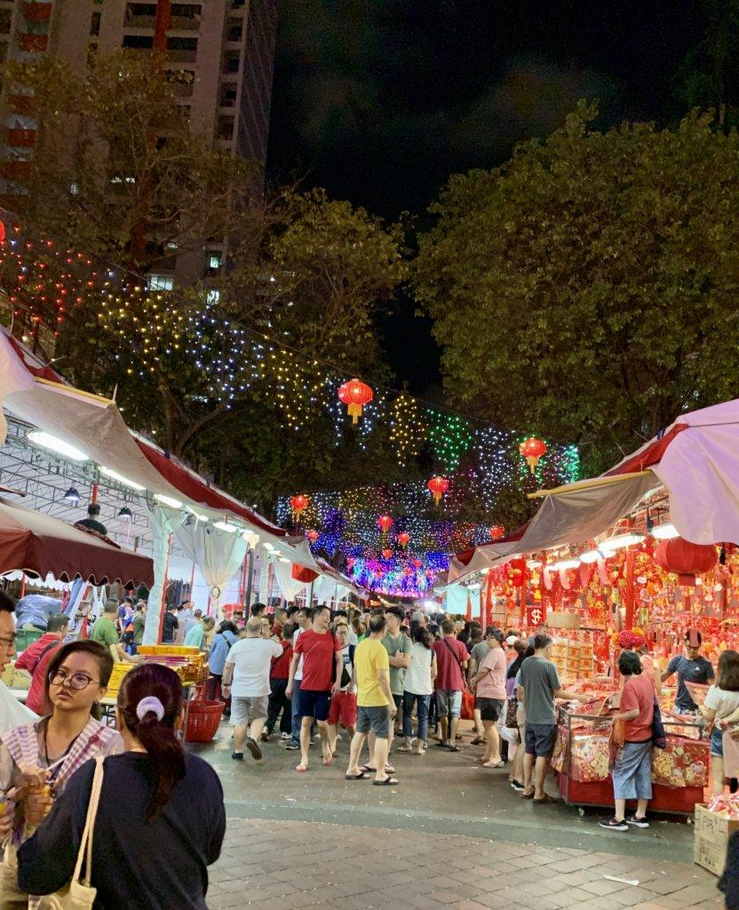旧正月!シンガポール式初詣【観音堂 / Kwan Im Thong Hood Cho Temple】@ブギス