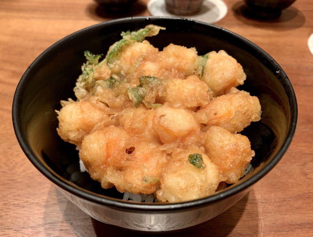 ランチにお得な天ぷらコース【みずき / Mizuki Tempura and Sushi】@Ngee Ann City(高島屋)