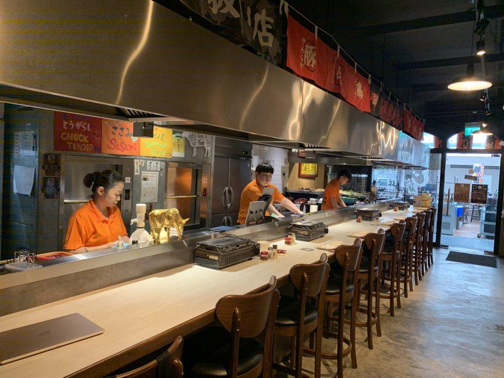 シンガポールで焼肉はここ!【焼肉じゃんじゃん】@カッページテラス